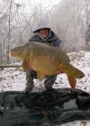il fesait -4°c et plus de la moitié du lac geler!! facebook : Team Dream Fishing